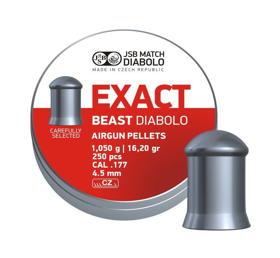 JSB Exact Beast Diabolo 4.52mm 16,20gr