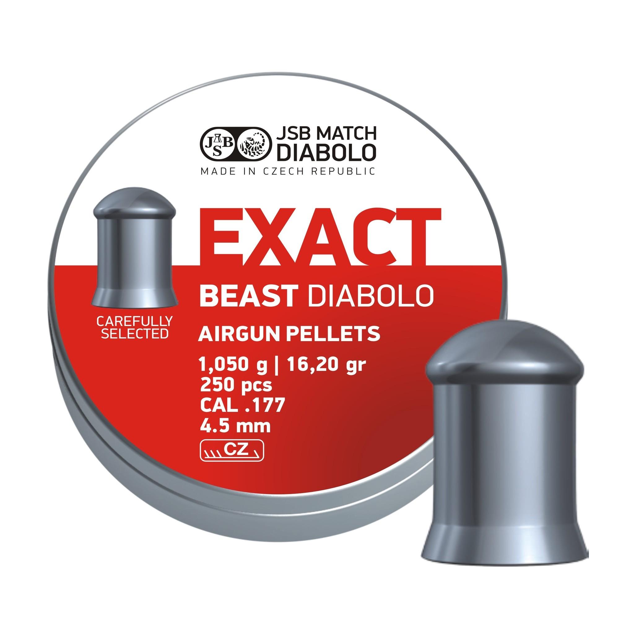 JSB  JSB Exact Beast Diabolo 4.52mm 16,20gr