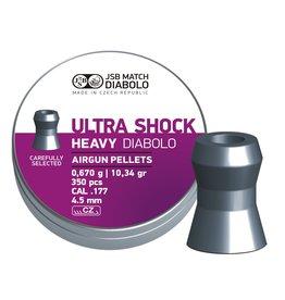 JSB  JSB Ultra Shock Heavy Diabolo 4.52mm 10.34gr