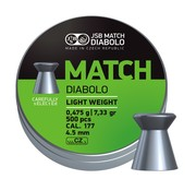 JSB  JSB Match Diabolo Light Weight 4,49mm 7,33gr