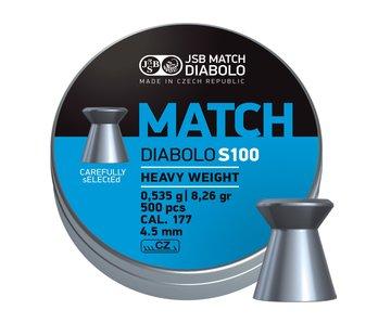 JSB  JSB Match Diabolo Heavy Weight 4,50mm 8,26gr