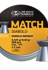 JSB  JSB Match Diabolo Middle Weight 4,50mm 8,02gr