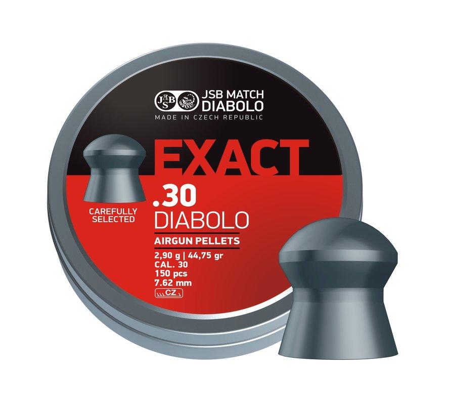 JSB Exact Diabolo .30 7.62mm 44.75 grain
