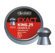 JSB  JSB Exact King .25 Diabolo 6,35mm 25,39gr (350)