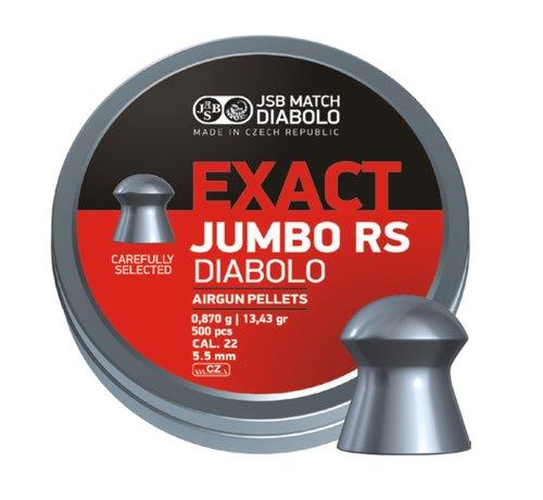 JSB  JSB Exact Jumbo RS Diabolo 5.52mm 13.43 grain