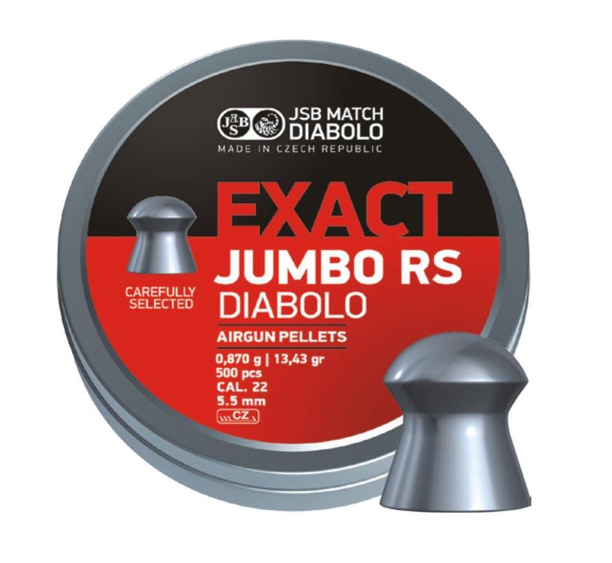 JSB Exact Jumbo RS Diabolo 5.52mm 13.43 grain