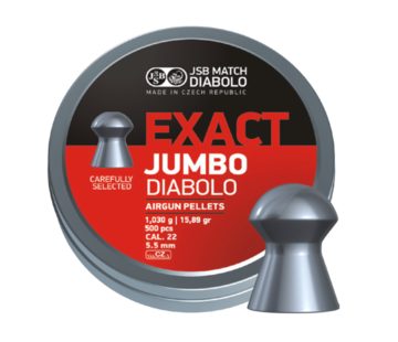 JSB  JSB Exact Jumbo Diabolo 5.51mm 15.89gr