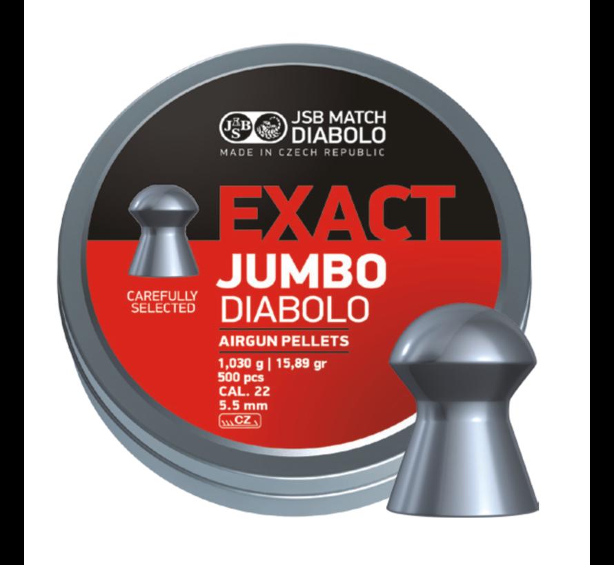 JSB Exact Jumbo Diabolo 5.51mm 15,89gr
