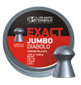 JSB  JSB Exact Jumbo Diabolo 5,52mm 15,89gr