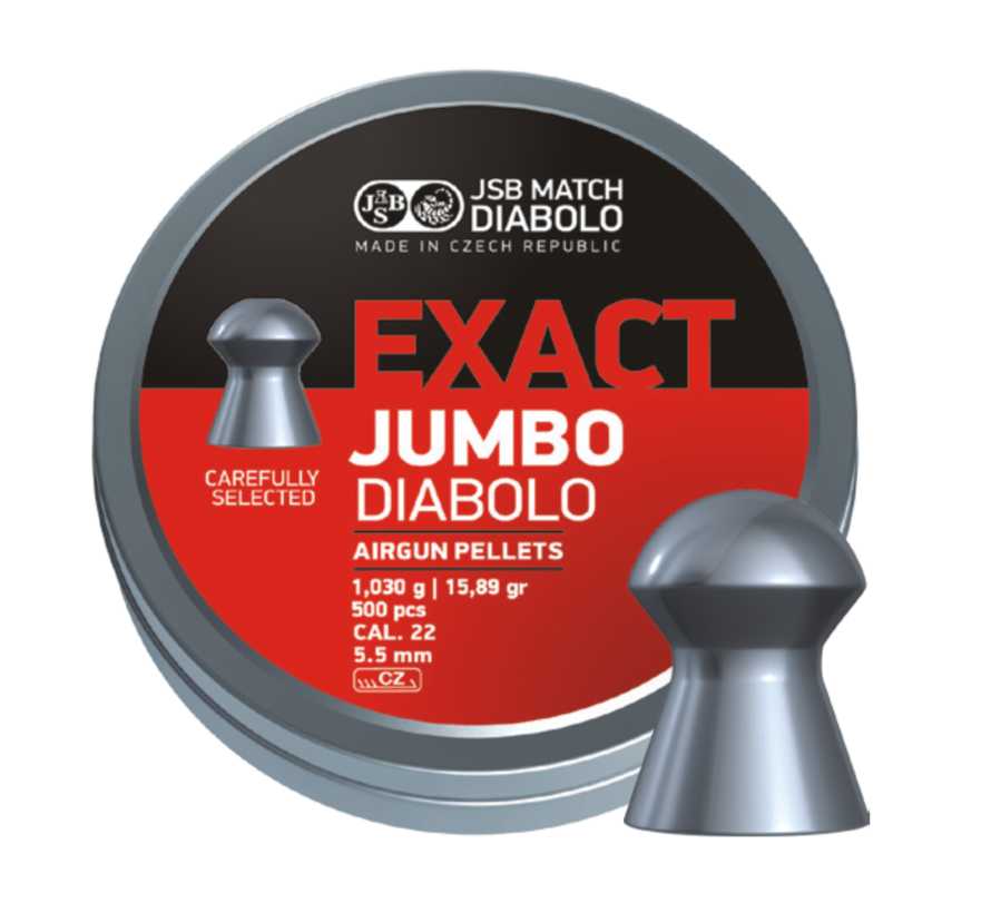JSB Exact Jumbo Diabolo 5,52mm 15,89gr