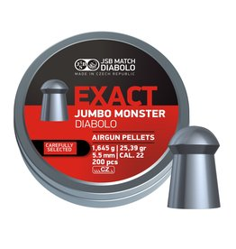 JSB  JSB Exact Jumbo Monster  Diabolo 5.52mm 25.39 grain