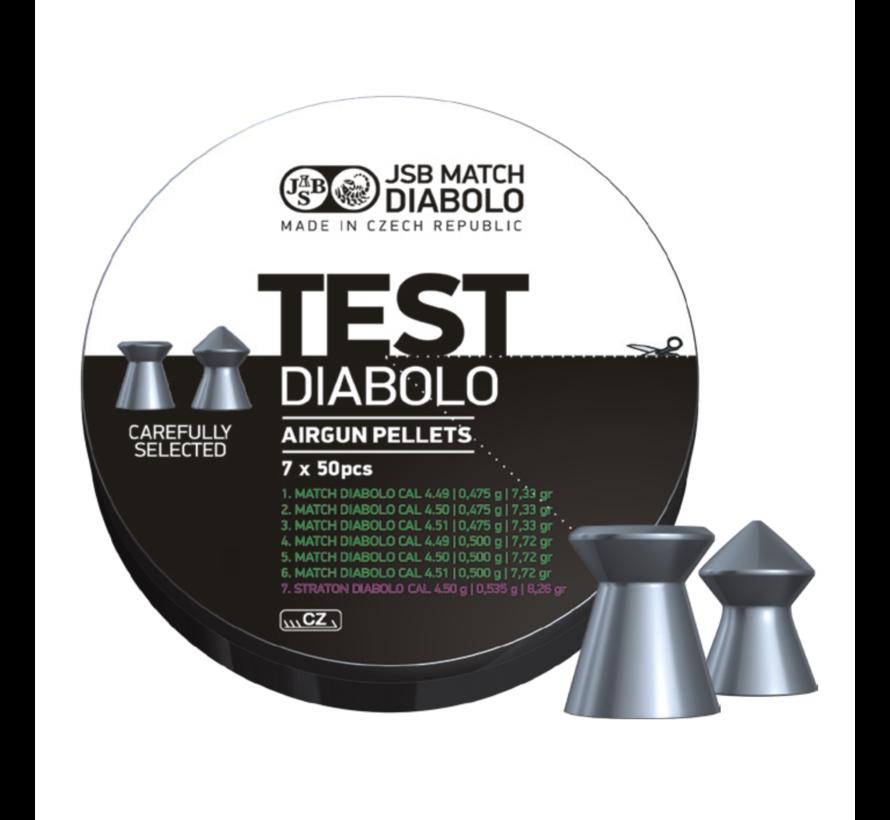 JSB Match Light Test Diabolo  4.5mm