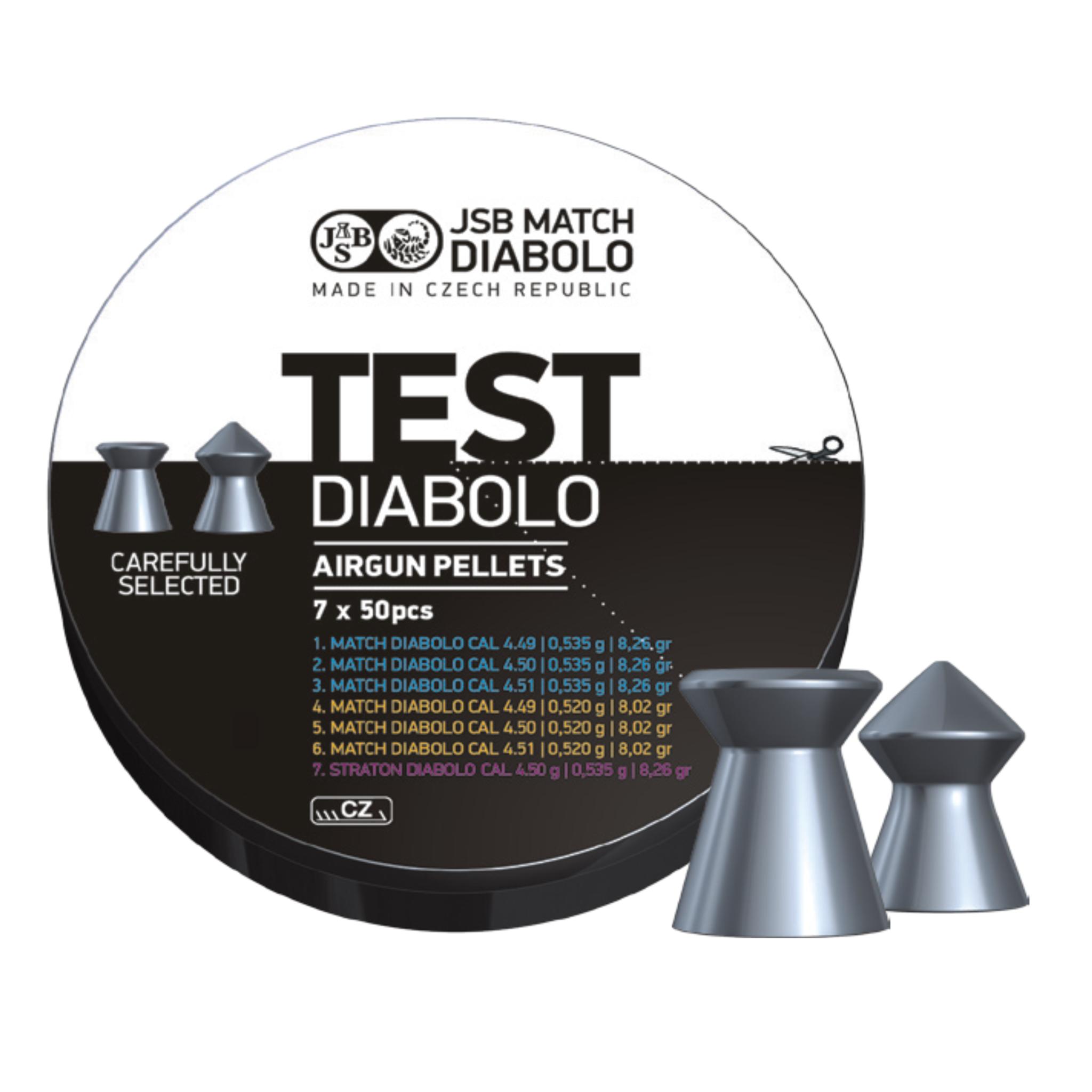 JSB  JSB Match Medium & Heavy Diabolo 4.5mm