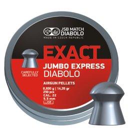 JSB  JSB Exact Jumbo Express  Diabolo 5,52mm 14,35 gr