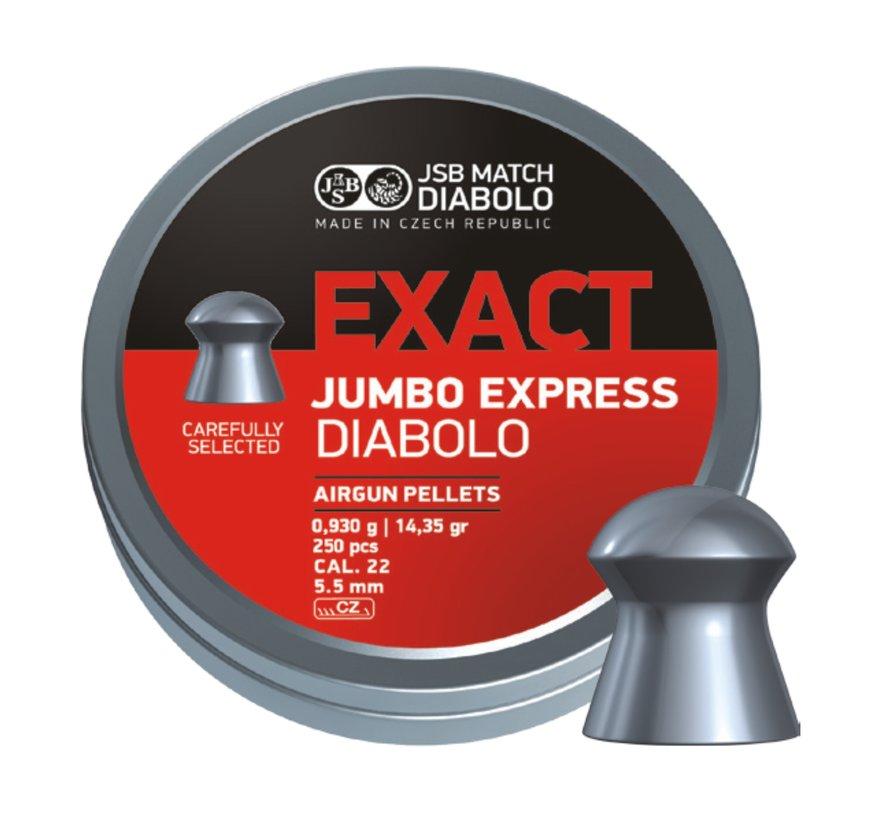 JSB Exact Jumbo Express  Diabolo 5,52mm 14,35 gr