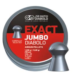 JSB  JSB Exact Jumbo Diabolo 5.52mm 15.89 grain