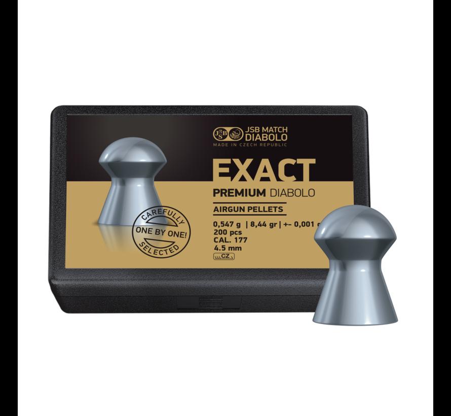 JSB Exact Premium Diabolo 4,52mm 8,44 grain