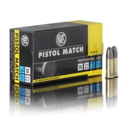 RWS RWS Pistol Match .22LR 40 grain