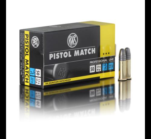 RWS Pistol Match .22 LR van RWS