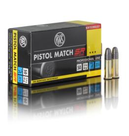RWS RWS Pistol Match SR .22 LR 40grain