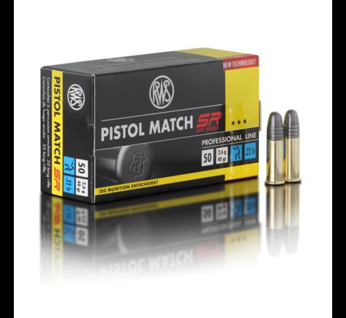 RWS Pistol Match SR .22 R van RWS