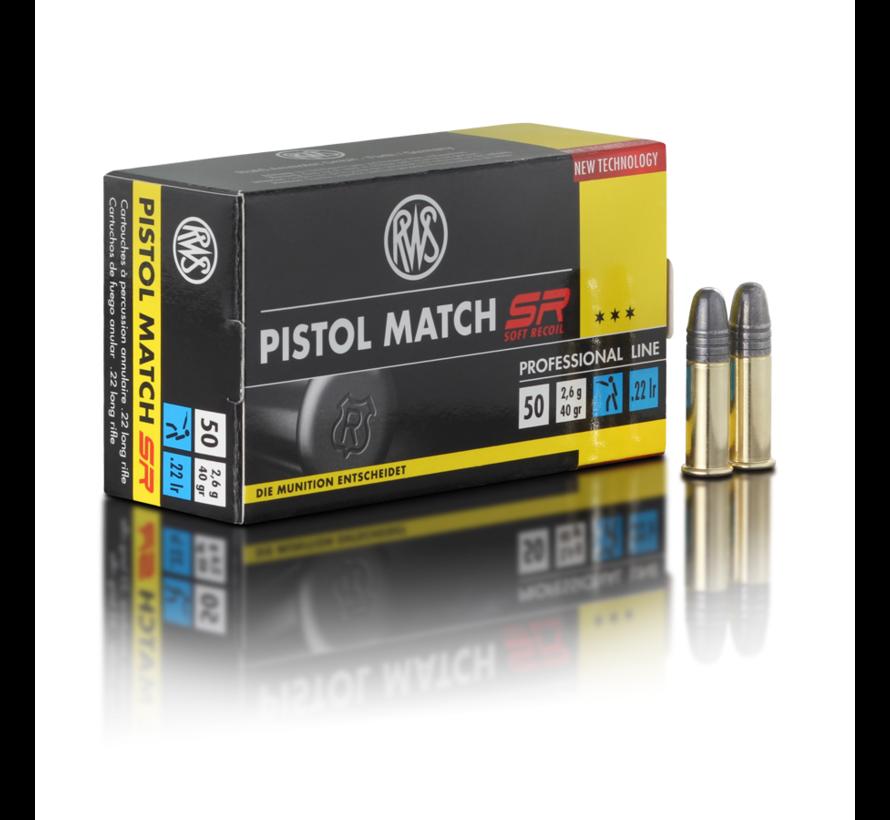 Pistol Match SR .22 R van RWS