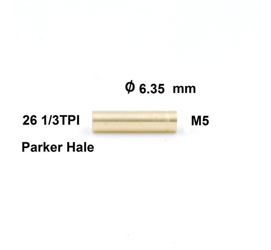 Cleaning Rod Adapter Parker Hale internal thread - M5 internal thread