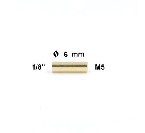 "Cleaning Rod Adapter 1/8"" internal thread - M5 internal thread"