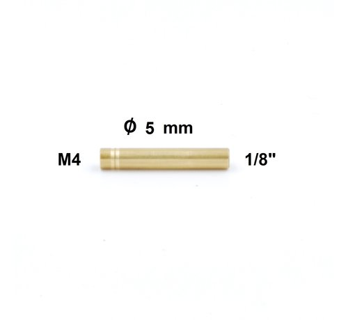 "Cleaning Rod Adapter Niebling M4  internal tread  - 1/8"" internal thread"