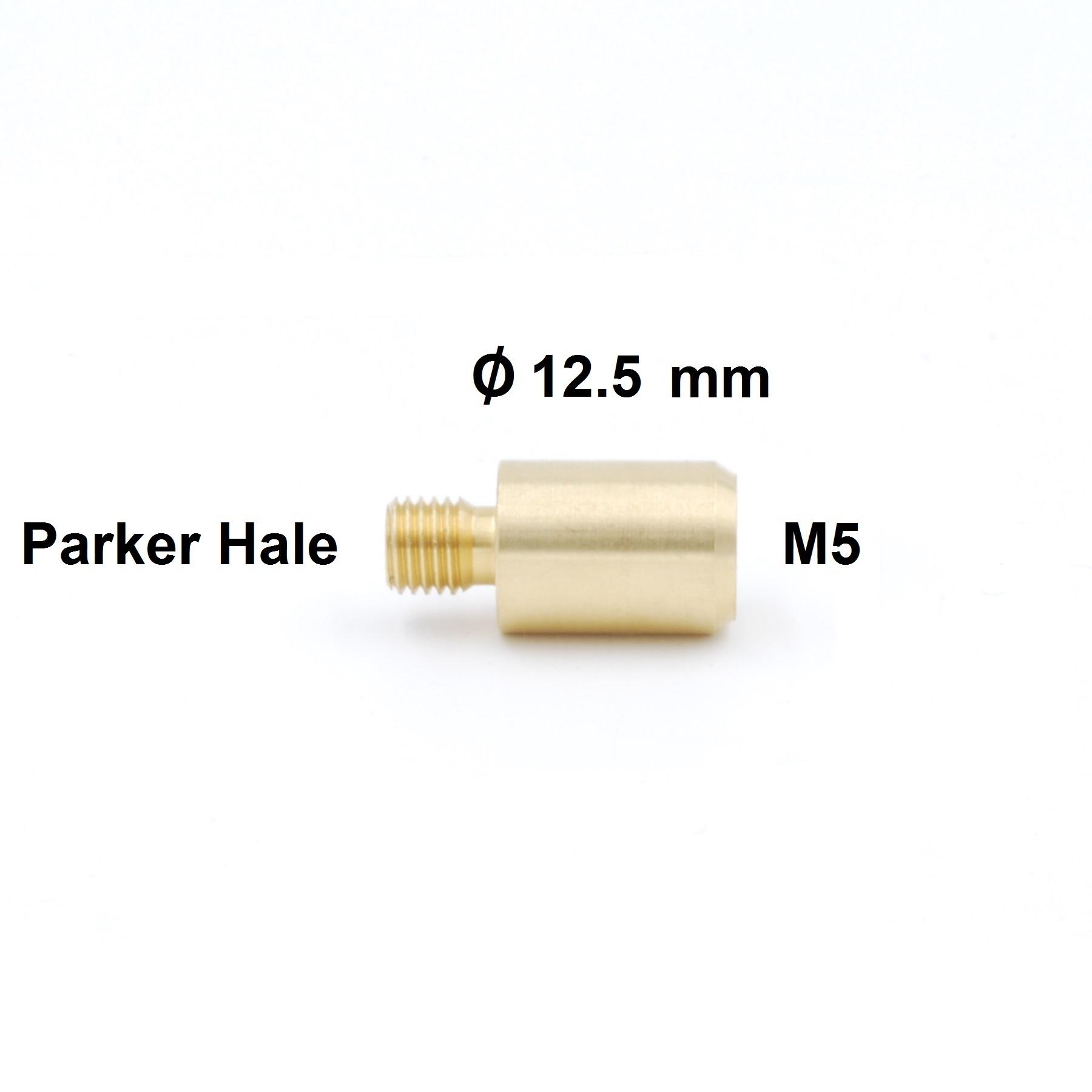 Ballistol Poetsstok Adapter Parker Hale  buitendraad  naar M5 binnendraad