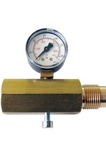 Gehmann Gehmann M225-300 DIN connector met Manometer 300 Bar