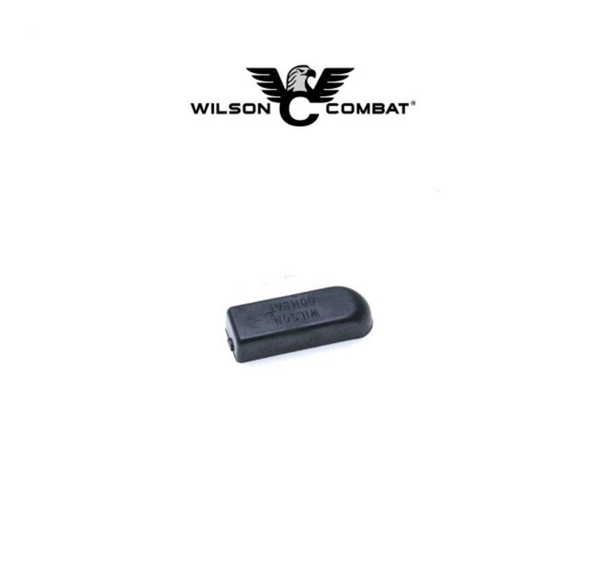 "Wilson Combat 1911 Base Pad, Standard (.360""), Glue-On, Black"