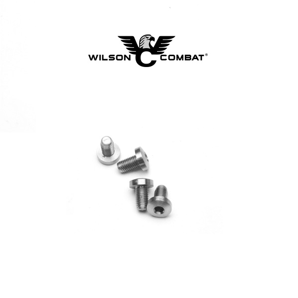 Wilson Combat Wilson Combat 1911 Grip Screws, Hex Head, Stainless