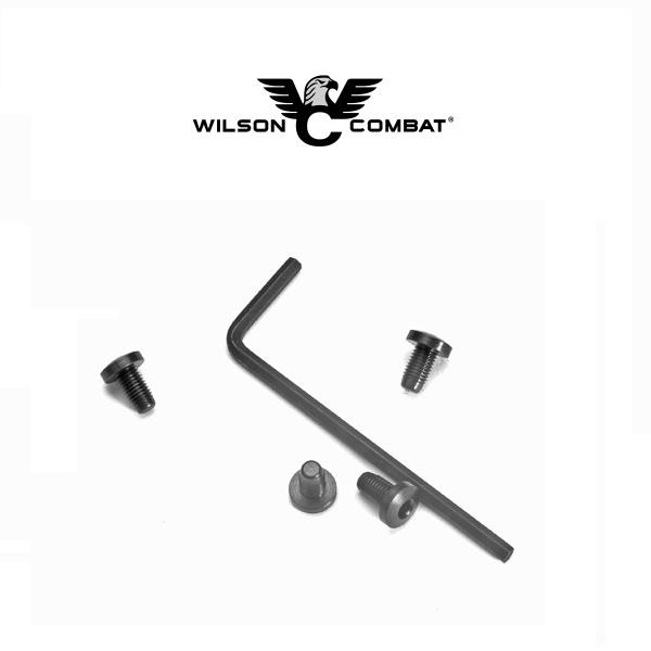 Wilson Combat Wilson Combat 1911 Grip Screws, Hex Head, Blue