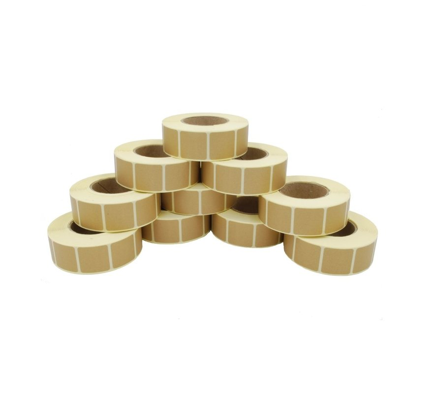 22x22mm TAN Target Patches  10 rollen