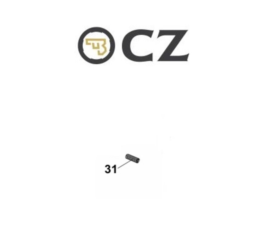 CZ Shadow 2 Safety detent spring