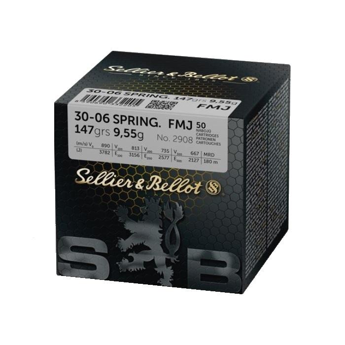 Sellier & Bellot Sellier & Bellot 30-06  Springfield FMJ 147grain