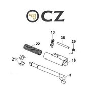 CZ CZ P-10C Firing Pin Assembly