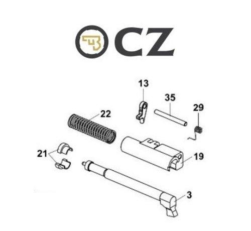 CZ CZ P-10C Firing Pin Assembly