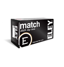 ELEY ELEY Match .22 LR 40grain