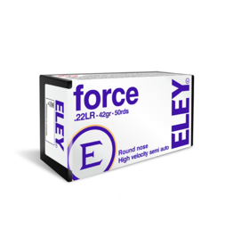 ELEY ELEY Force  .22 LR 42grain