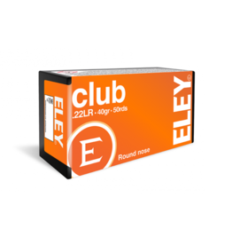 ELEY ELEY Club  .22 LR 40grain