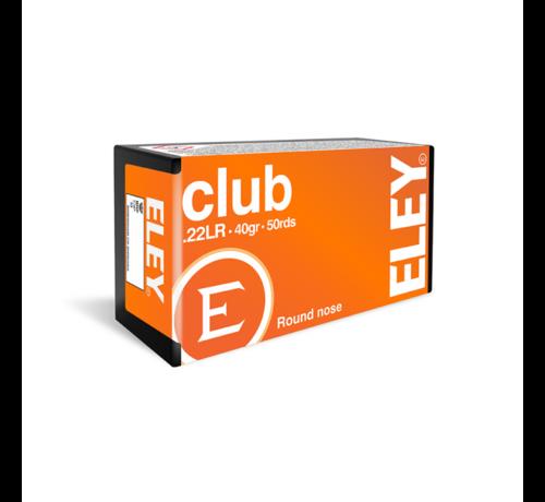 ELEY Club  .22 LR ammunition by Eley
