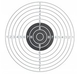 Shooting targets and shooting cards