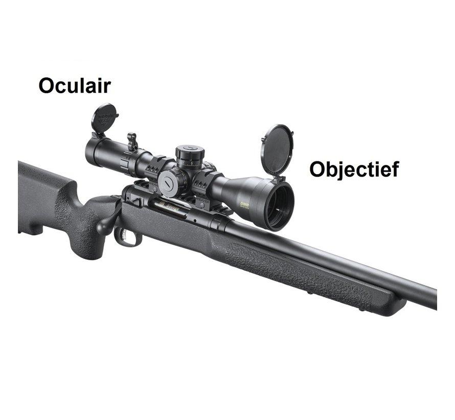 Butler Creek Flip open Cover Objectief
