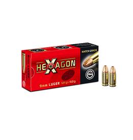 Geco GECO Hexagon 9mm  124grain