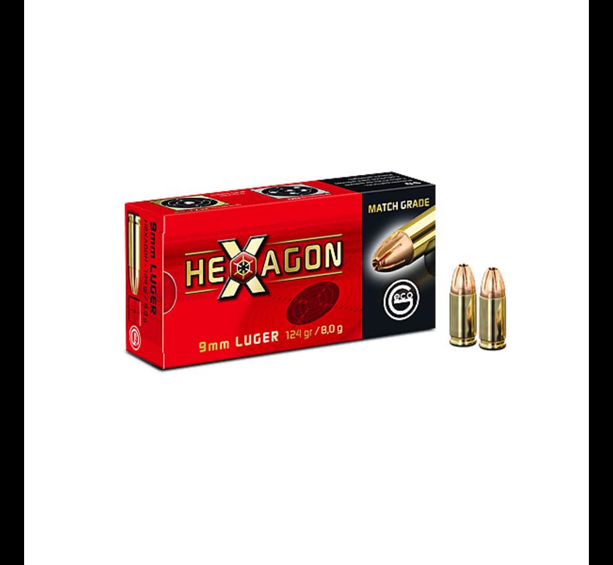 GECO Hexagon 9mm  124grain