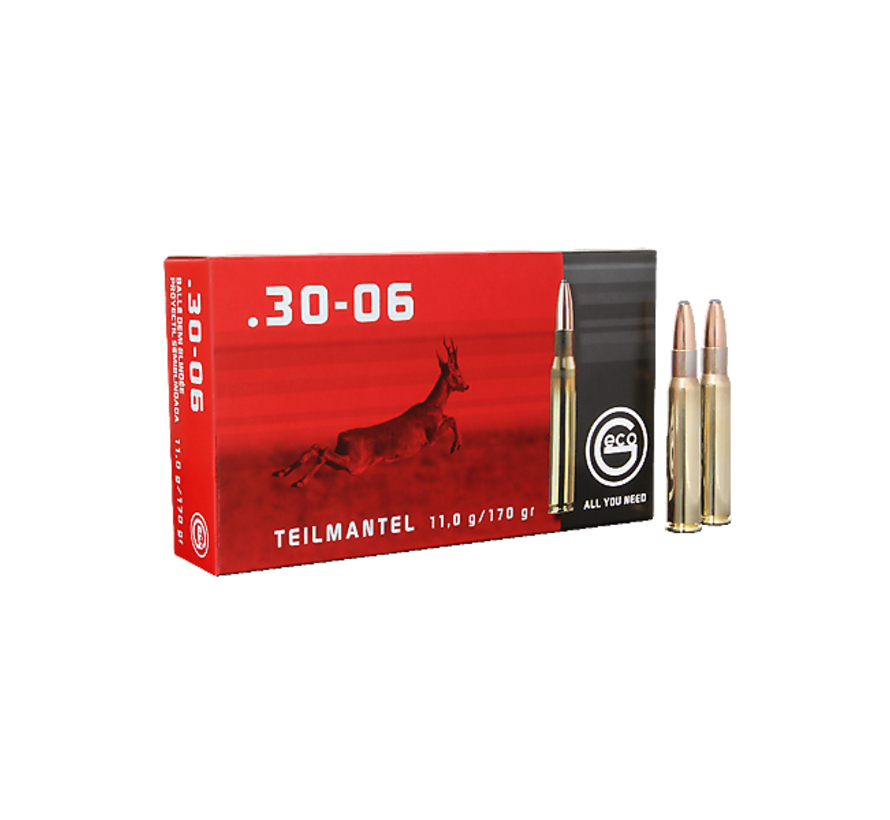 .30-06 Softpoint ammo by Geco