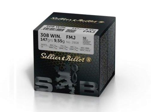 Sellier & Bellot Sellier & Bellot .308 WIN. FMJ 147 grain