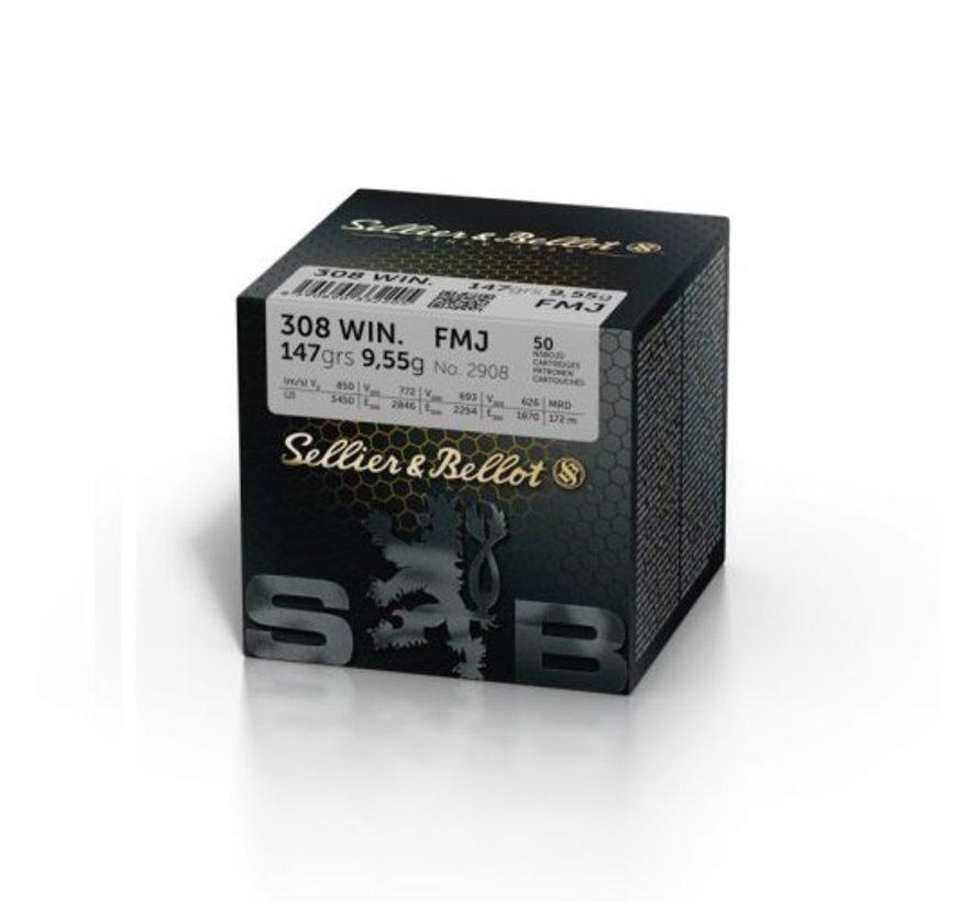 Sellier & Bellot .308 WIN. FMJ 147 grain